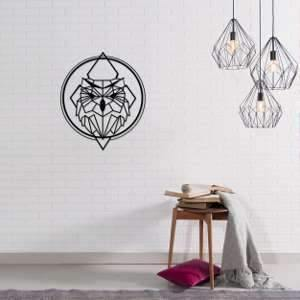 Metal Wall Art Owly-Modern Furniture Deals