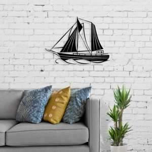 Metal Wall Art Sailing-Modern Furniture Deals