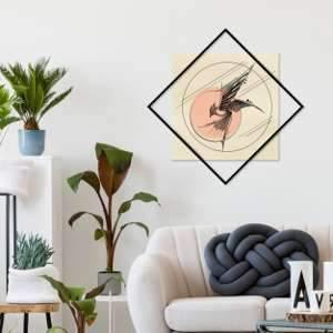 Metal Wall Art Square Free-Modern Furniture Deals