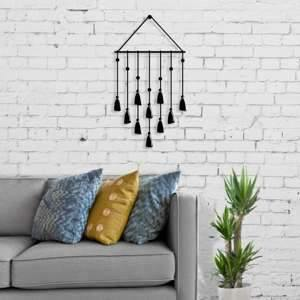 Metal Wall Art Tassel-Modern Furniture Deals