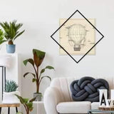 Metal Wall Art Up To Sky-Modern Furniture Deals