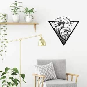 Metal Wall Art Wave-Modern Furniture Deals