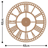 Metal Wall Clock 10 - Copper Wall Art-Metal Wall Art-[sale]-[design]-[modern]-Modern Furniture Deals