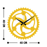 Metal Wall Clock 12 - Gold Wall Art-Metal Wall Art-[sale]-[design]-[modern]-Modern Furniture Deals
