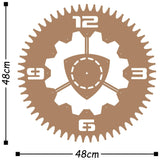 Metal Wall Clock 13 - Copper Wall Art-Metal Wall Art-[sale]-[design]-[modern]-Modern Furniture Deals
