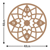 Metal Wall Clock 19 - Copper Wall Art-Metal Wall Art-[sale]-[design]-[modern]-Modern Furniture Deals