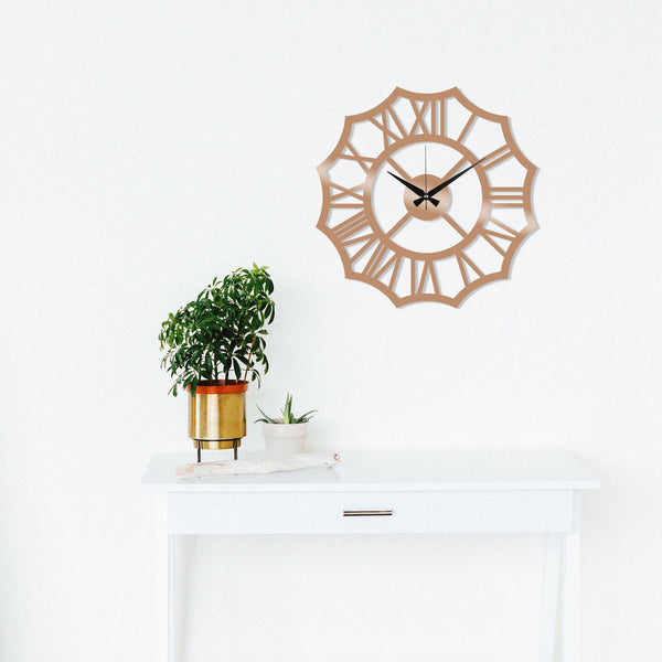 Metal Wall Clock 23 - Copper Wall Art-Metal Wall Art-[sale]-[design]-[modern]-Modern Furniture Deals