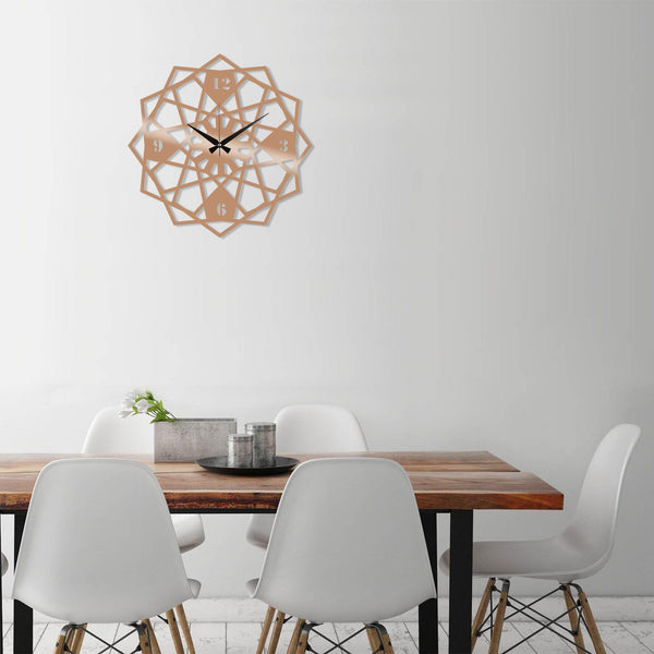 Metal Wall Clock 27 - Copper Wall Art-Metal Wall Art-[sale]-[design]-[modern]-Modern Furniture Deals