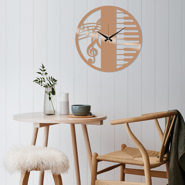 Metal Wall Clock 29 - Copper Wall Art-Metal Wall Art-[sale]-[design]-[modern]-Modern Furniture Deals