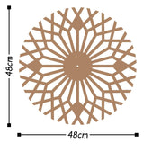 Metal Wall Clock 30 - Copper Wall Art-Metal Wall Art-[sale]-[design]-[modern]-Modern Furniture Deals