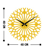Metal Wall Clock 30 - Gold Wall Art-Metal Wall Art-[sale]-[design]-[modern]-Modern Furniture Deals