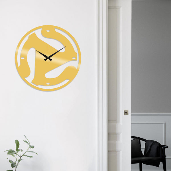 Metal Wall Clock 5 - Gold Wall Art-Metal Wall Art-[sale]-[design]-[modern]-Modern Furniture Deals