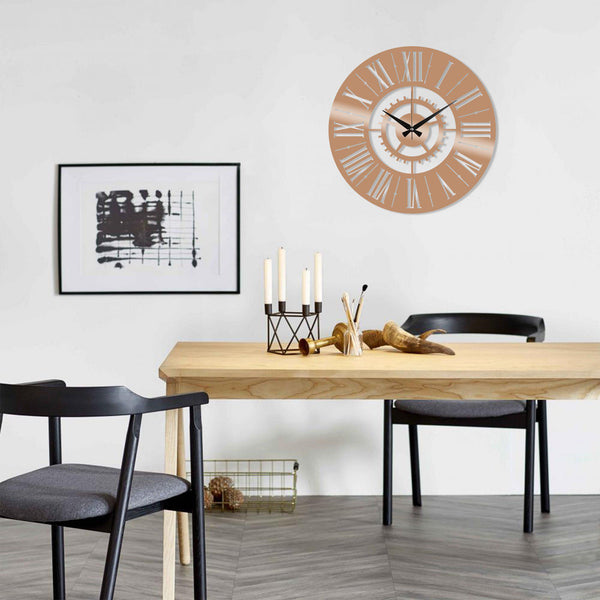 Metal Wall Clock 6 - Copper Wall Art-Metal Wall Art-[sale]-[design]-[modern]-Modern Furniture Deals