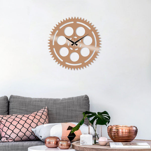 Metal Wall Clock 9 - Copper Wall Art-Metal Wall Art-[sale]-[design]-[modern]-Modern Furniture Deals