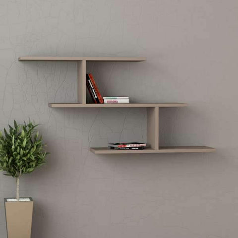 Miss Shelf-Burgundy-Modern Furniture Deals