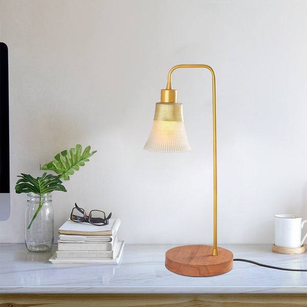 MONA Glass Gold Desk Lamp-Desk Light-[sale]-[design]-[modern]-Modern Furniture Deals