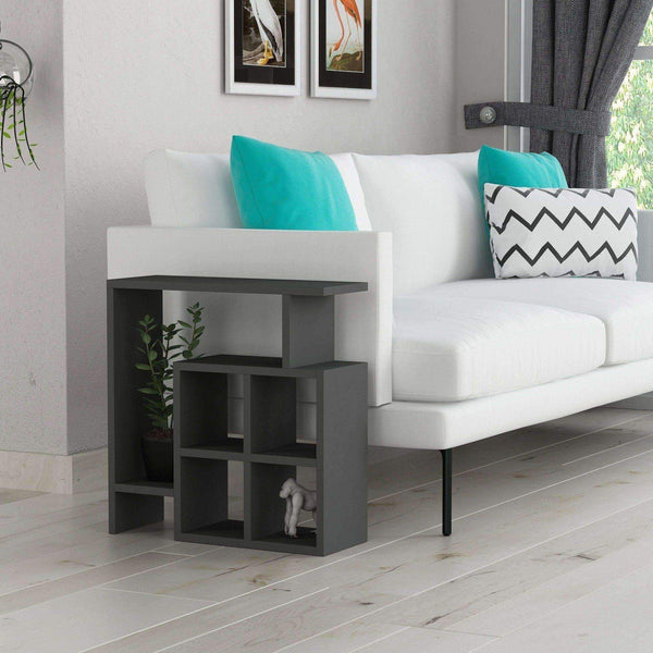 Montre Side Table-Grey-Modern Furniture Deals