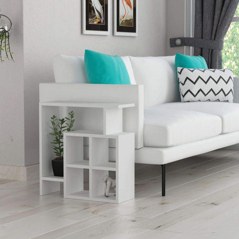 Montre Side Table-White-Modern Furniture Deals