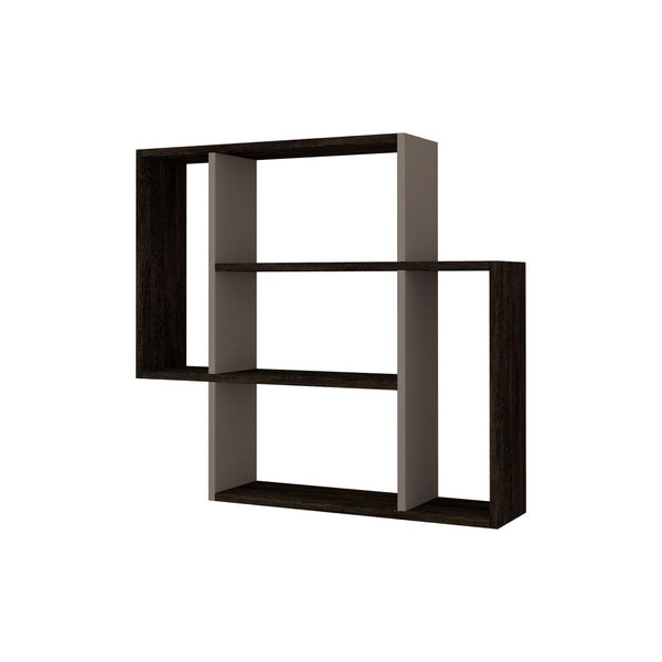 Moon Shelf-Mocha-Antique White-Modern Furniture Deals