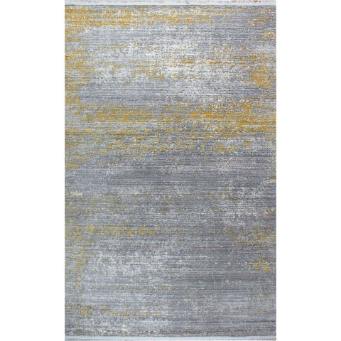 MOOR rug Grey-Yellow 160X230-Modern Furniture Deals