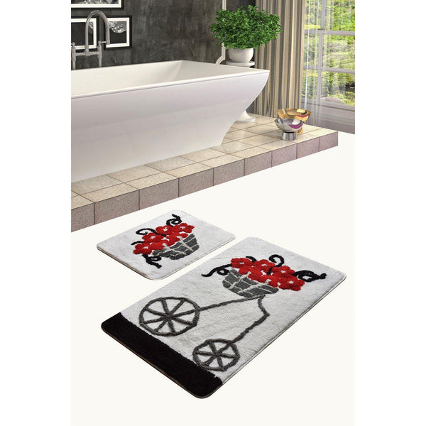 Muru - Red Bath Mat-Bath Mat-[sale]-[design]-[modern]-Modern Furniture Deals