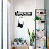 Music Notes Coat Rack-FURNITURE>COAT HOOKS-[sale]-[design]-[modern]-Modern Furniture Deals