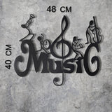 MUSIC Wall Art-Metal Wall Art-[sale]-[design]-[modern]-Modern Furniture Deals