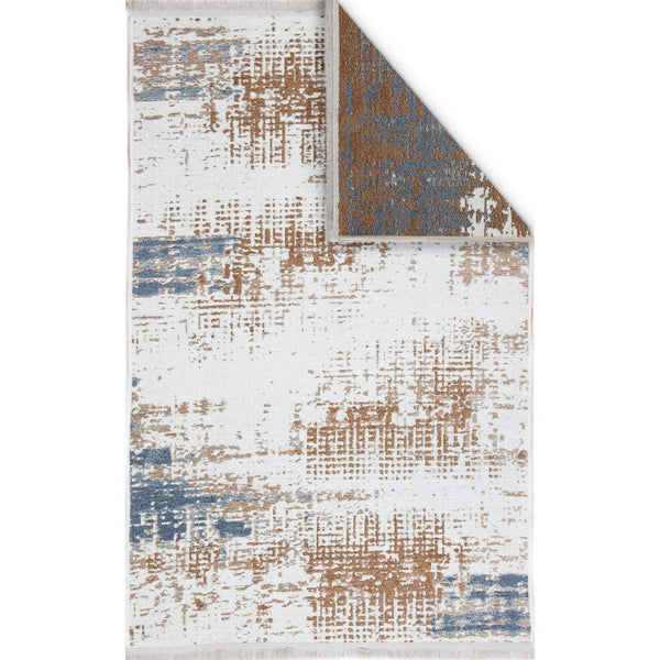 Nk 01 Rug - Beige-Blue 80X200-Modern Furniture Deals