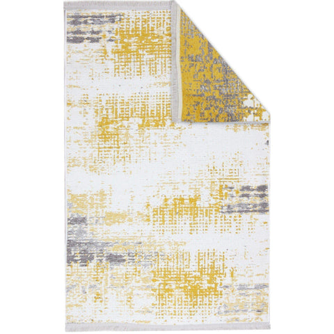 Nk 01 Rug - Yellow-Grey 80X150-Modern Furniture Deals