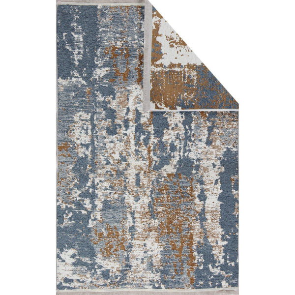 Nk 02 Rug - Beige-Blue 80X200-Modern Furniture Deals