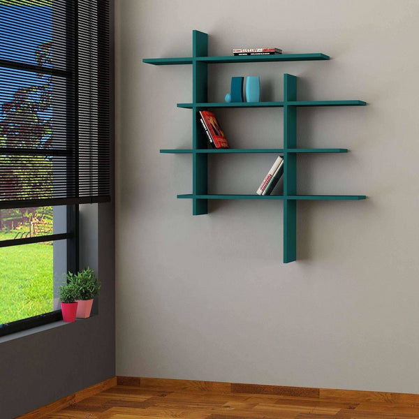 No.1 Shelf-Turquoise-Modern Furniture Deals