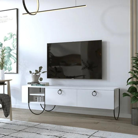 NORA Tv Stand-FURNITURE>TV STANDS>TV STAND-[sale]-[design]-[modern]-Modern Furniture Deals