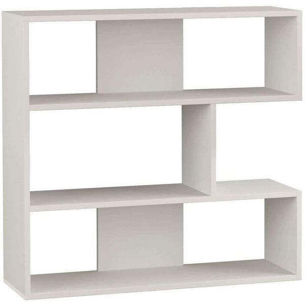 Only N.1 Bookcase-White-Modern Furniture Deals