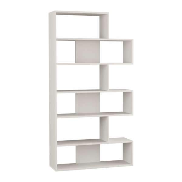 Only N.2 Bookcase-White-Modern Furniture Deals