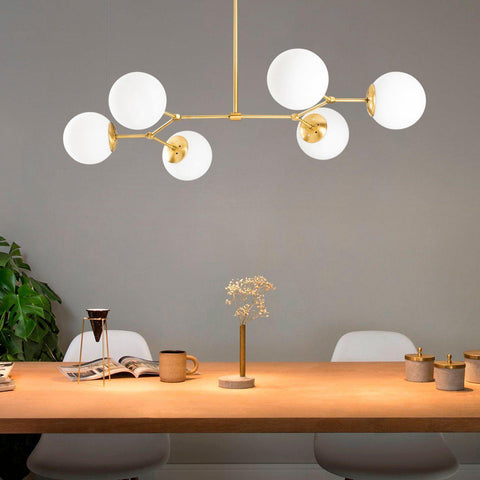 OPTIMA 6 Sphere Ceiling Light Gold-Modern Furniture Deals