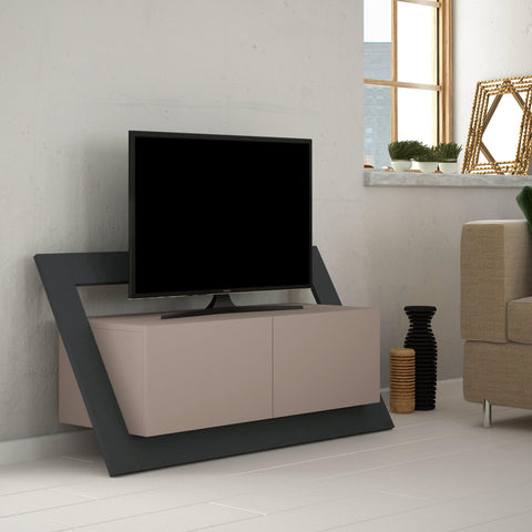 Orbit Tv Stand - Light Mocha - Anthracite-FURNITURE>TV STANDS>TV STAND-[sale]-[design]-[modern]-Modern Furniture Deals