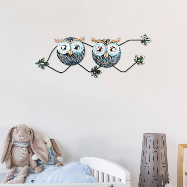 OWL 3 Wall Art-Metal Wall Art-[sale]-[design]-[modern]-Modern Furniture Deals