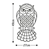 OWL2 Wall Art-Metal Wall Art-[sale]-[design]-[modern]-Modern Furniture Deals