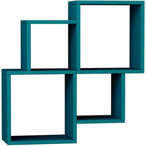Ozo Shelf-Turquoise-Modern Furniture Deals