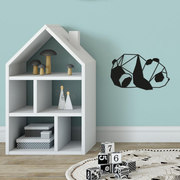 PANDA2 Wall Art-Metal Wall Art-[sale]-[design]-[modern]-Modern Furniture Deals