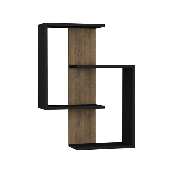 Paradox Shelf-Grey-Dark Oak-Modern Furniture Deals