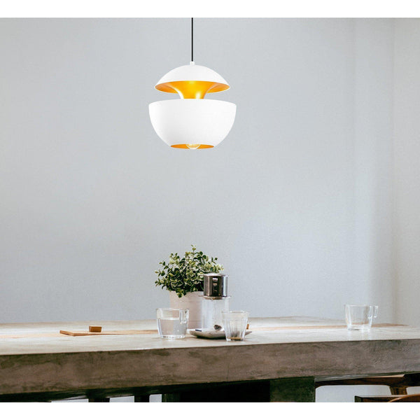 Pendulum Apple Ceiling Light White-Modern Furniture Deals