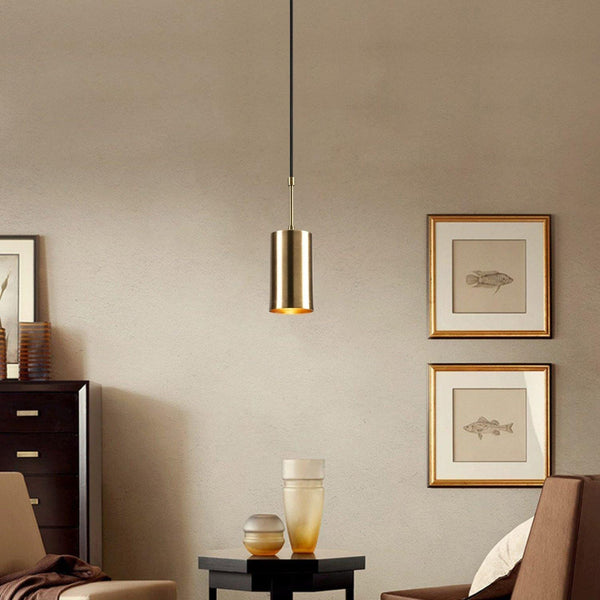 PIERRE Pendant Ceiling Light Gold Black-Modern Furniture Deals