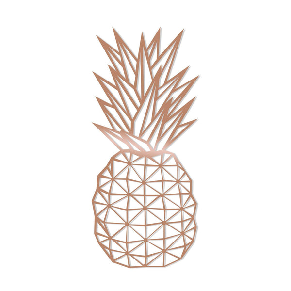 PINEAPPLE - COPPER Wall Art-Metal Wall Art-[sale]-[design]-[modern]-Modern Furniture Deals