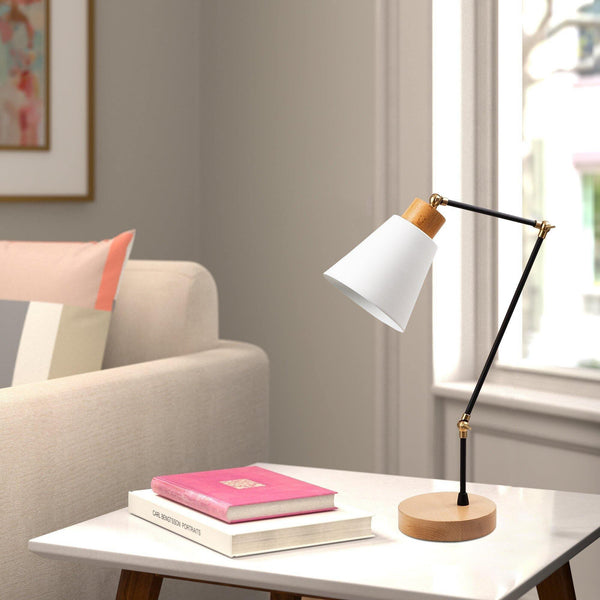 PIXEL DESK LAMP White, Black-Modern Furniture Deals