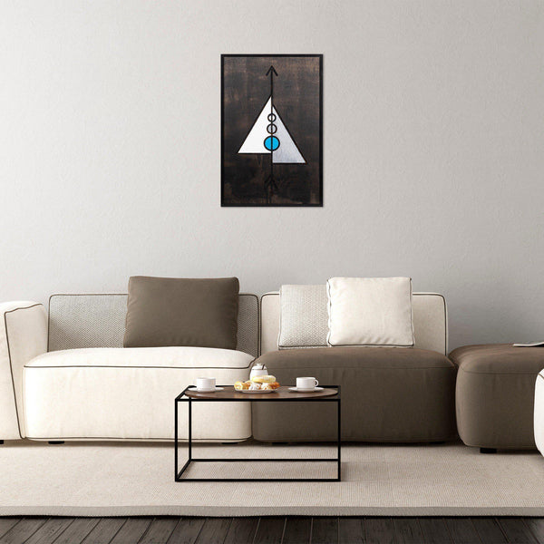 Pyramid 3 Wall Art-Metal Wall Art-[sale]-[design]-[modern]-Modern Furniture Deals