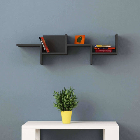 Raquel Shelf-Burgundy-Modern Furniture Deals