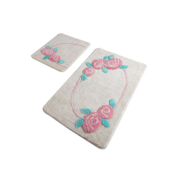 Rosalin - Ecru Bath Mat-Bath Mat-[sale]-[design]-[modern]-Modern Furniture Deals