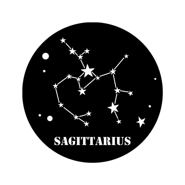 SAGITTARIUS HOROSCOPE - BLACK Wall Art-Metal Wall Art-[sale]-[design]-[modern]-Modern Furniture Deals
