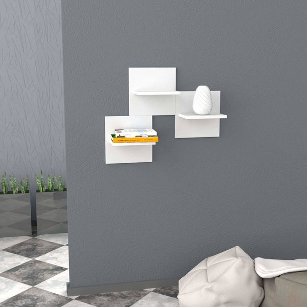 Saka Shelf-White-Modern Furniture Deals